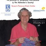 Rose knitting dishcloths