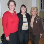 Jane, Pauline and Shirley from SI-DAF at the Lions meeting