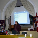 Fiona Campbell of the Technology Access Clinic gave a presentation