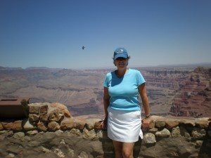 Jane at the Grand Canyon