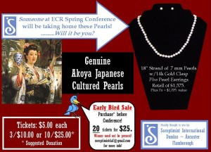 7mm Pearls - you could be the winner at Spring Conference! Click to view larger image »
