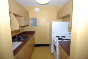 A snapshot of a pod interior (kitchen area)