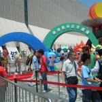 Another Olympic display in Hong Kong