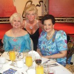 President Tess, incoming President Alice Wells and past governor Shirley