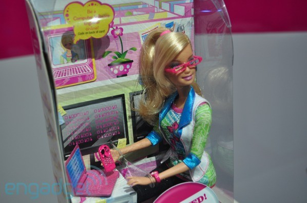 Her newest career is Computer Engineering Barbie