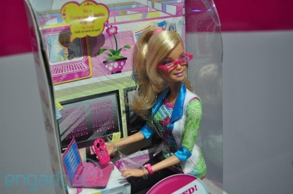 Her newest career is Computer Engineering Barbie