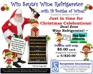 Santa's Wine Fridge