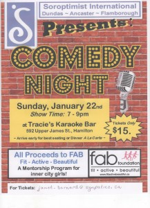 Comedy Night January 2017